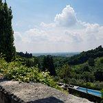 Villa Cipriani garden view