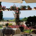 Villa Cipriani garden dining
