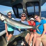 King Mackerel caught Offshore Cape Coral Florida Deep Sea Fishing