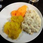 Dessert buffet plate