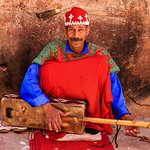 Traditional Gnaoua music in Marrakech