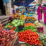 Local Market in the countryside; Morocco