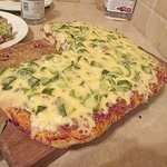 This Is Our Own Pizza in Tobago... so IT CAN BE DONE.. but not at the Cantina!