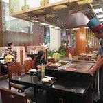 บรรยกาศภายในห้องอาหารญี่ปุ่นแห่งนี้ครับ