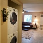 Full Size Washer & Dryer in Earth & Air Suites