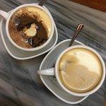 Egg Coffee and Egg Choco