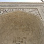 Entrance to Taj Mahal up close