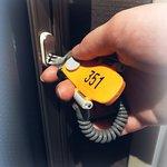 Key for Superior single and Twin room/スペーリアとツインのお部屋は鍵付き