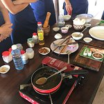 Best fun cooking school and can't wait to recreate the delicious dishes we prepared - highly rec