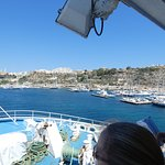Gozo Ferry - coming into Gozo