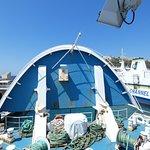 Gozo Ferry Bow rising
