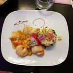 brochette de Saint Jacques & foie gras