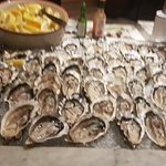 Melt Cafe have the best OYSTERS@ Thick and juicy and plumpish!