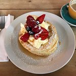 Nice funky place with yummy pancakes