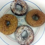 some of the donuts at Spunky Dunkers