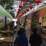 Food stall lane