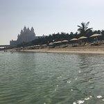Strand bij Aquaventure Waterpark