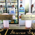 James Squire on tap in the bar