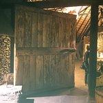 Beeindruckende Eingangstür