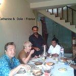 My France group @ Inora Homestay Peradeniya Kandy Sri lanka