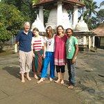 @ Gadaladeniya ancient temple, starting point for light treking session Sri lanka