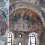 L'intérieur de l'église byzantine, le choeur