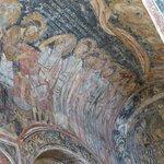 Le lavement des pieds, détail d'une fresque