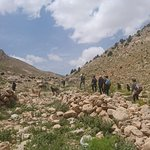 The best trekking route in Iran. Enjoy uniqe landscapes of zagros mountains and visit a lot of n