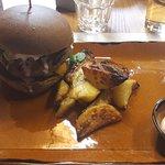 hamburger con pane integrale