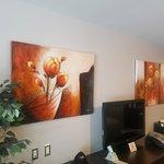 Tasteful room decoration