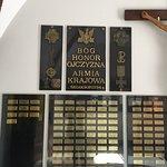 In memoria dei caduti durante II guerra mondiale - il Dio, l'Onore, la Patria- 3 principi patrio