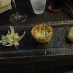 Flan di Asparagi con Pecorino in tempura