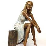 Suzy - bronze - H 41 cm