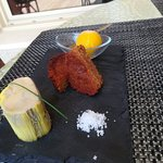 Auberge de la Bruyere: Tarte banane chocolat
