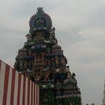 One of the Gopuram with ancient architecture