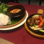 Bun Cha at restaurant - highly recommend - yum!