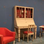 Art Deco furniture exhibition.