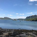 View down the loch from Plockton