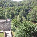 Вид из замка на реку