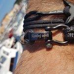 What to buy from Rovinj, Istria. Nautical bracelets handmade in Croatia. Original Rovinj souveni