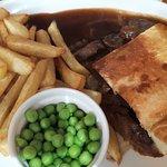 Steak pie meal