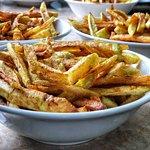 homemade frensh fries :)