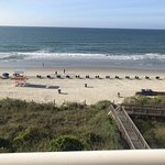View from 3rd floor room 336, tower 2 (center tower), oceanfront