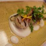Fashala restaurant - pan seared scallops