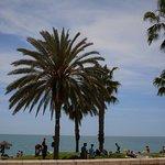 Playa de La Malagueta ภาพถ่าย