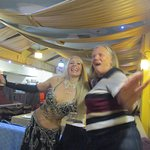 Val and the belly dancer