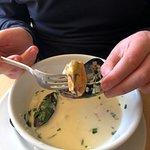 huge mussels!