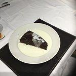 Chocolate fudge cake & Cream