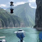 Sailing into the gorges