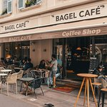 Bagel Cafe from the outside!
